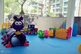 Speelruimte voor kleine kinderen