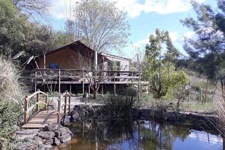Vakantiehuis Portugal, Costa de Prata, Carvalhal Benfeito glamping / safaritent / yurt Quinta Japonesa - Casa Cha