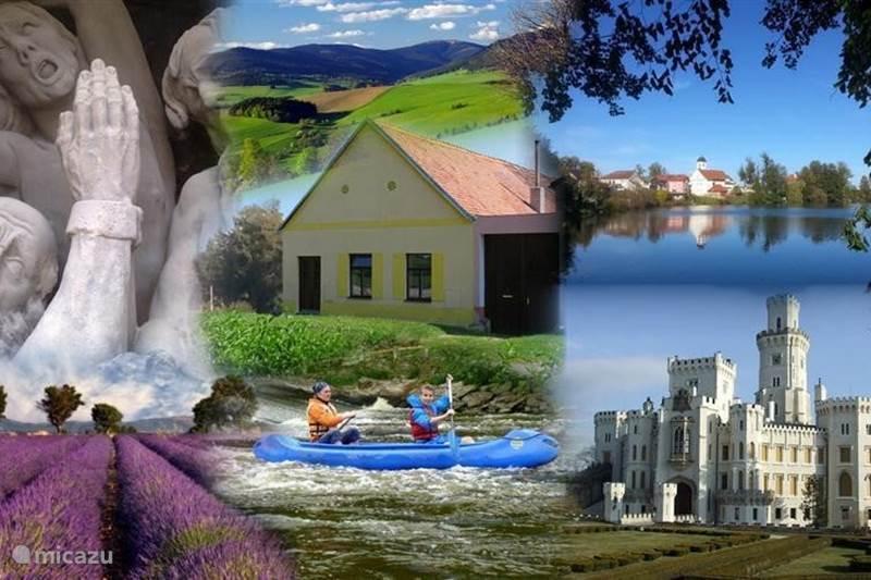 Vakantiehuis Tsjechië, Vysocina, Horni Cerekev Vakantiehuis Villa-Happy