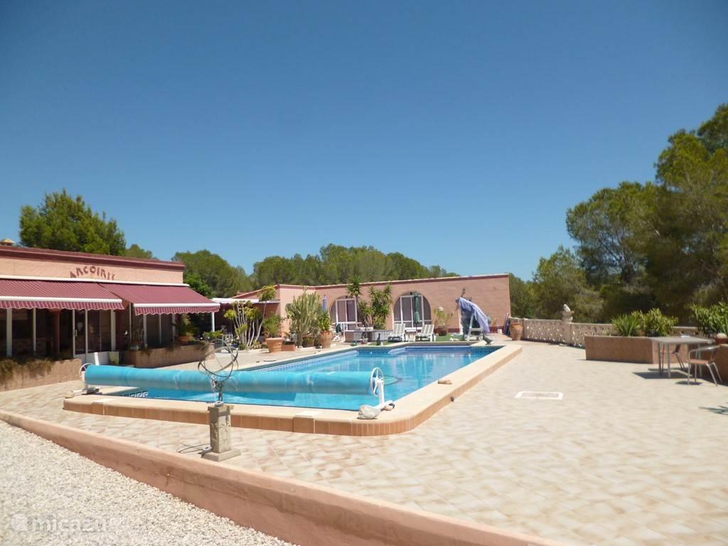 Vacation rental Spain, Costa Blanca, Pilar de la Horadada bungalow Arco Iris