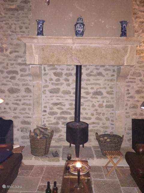 De 17e eeuwse schouw in de zaal
