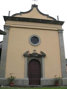 The beautiful old church of San Pietro