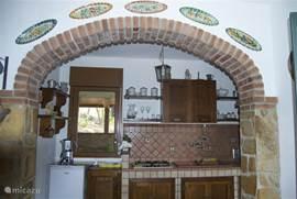 Prachtige keuken.