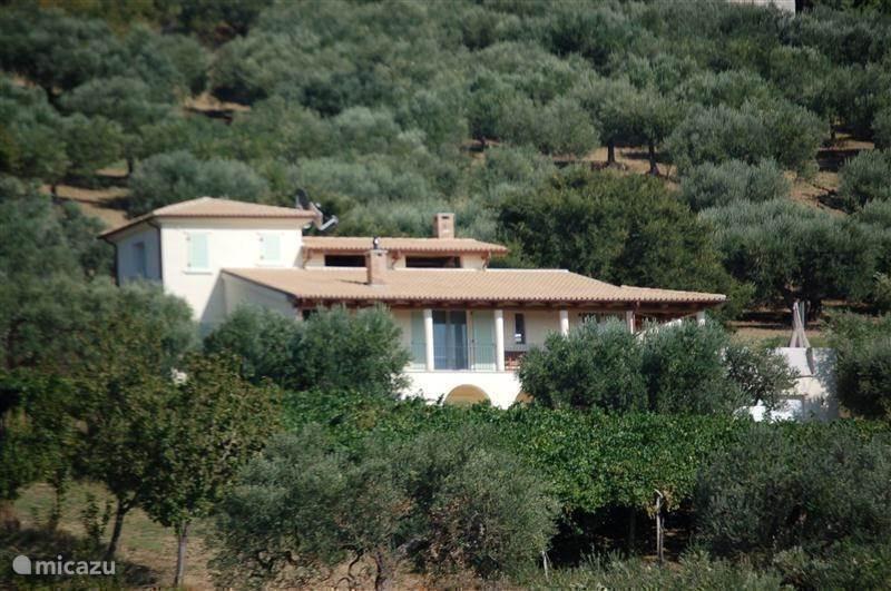 Vakantiehuis Italië, Molise, Guglionesi villa Molicasa