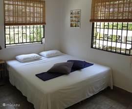 Beide slaapkamers zijn voorzien van Airco.