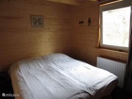 slaapkamer op het zuiden gelegen met kantel-kiepraam