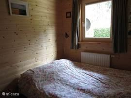 slaapkamer op het westen gelegen met kantel-kiepraam