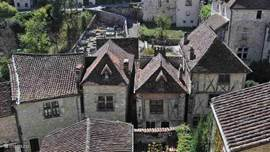 Saint-Cirq-Lapopie, voted the favorite village in France