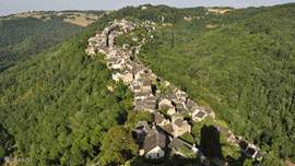 Najac, view from the castle tower