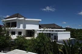 Villa is situated 200 meters above sea level, making it more pleasant temperature
