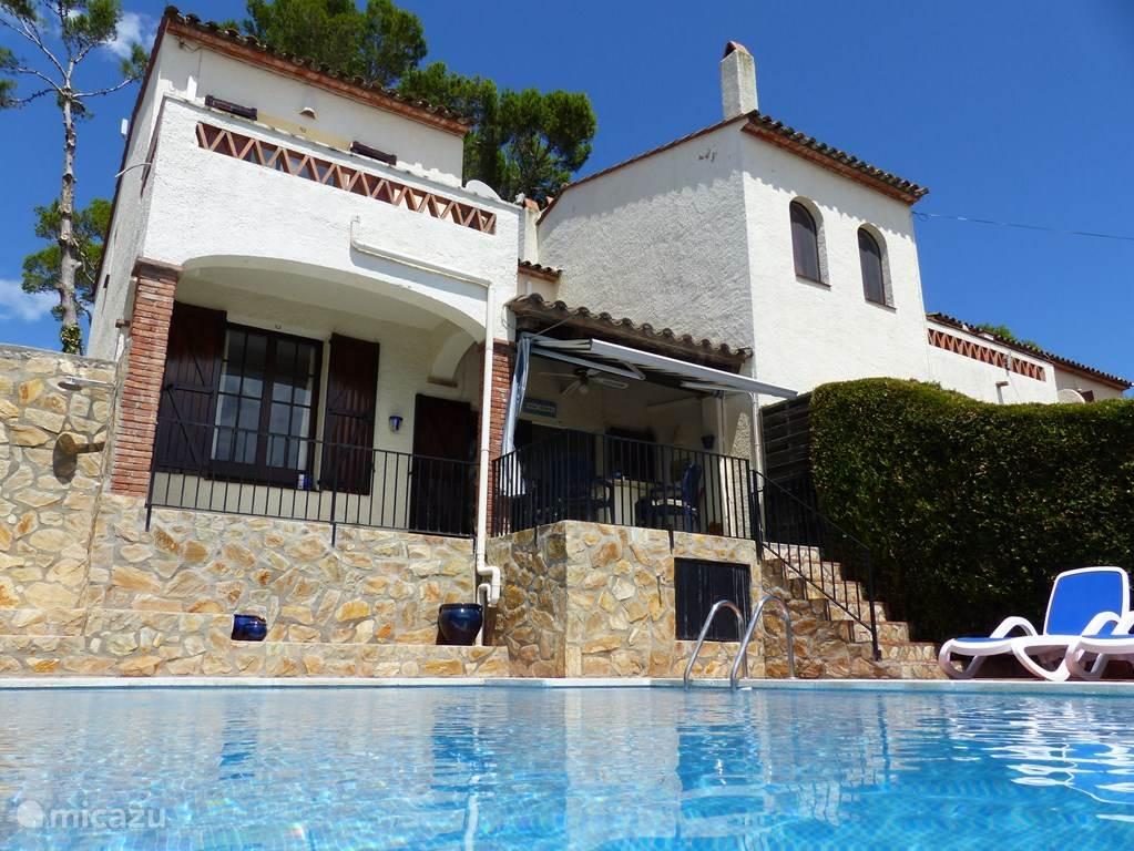 Vakantiehuis Spanje, Costa Brava, L'Estartit vakantiehuis Casa Verdial