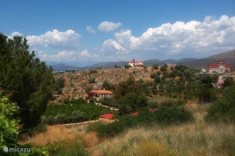 Vakantiehuis Griekenland, Peloponnesos, Iria (Nafplion) Vakantiehuis Iria 1, met zeezicht en tuin