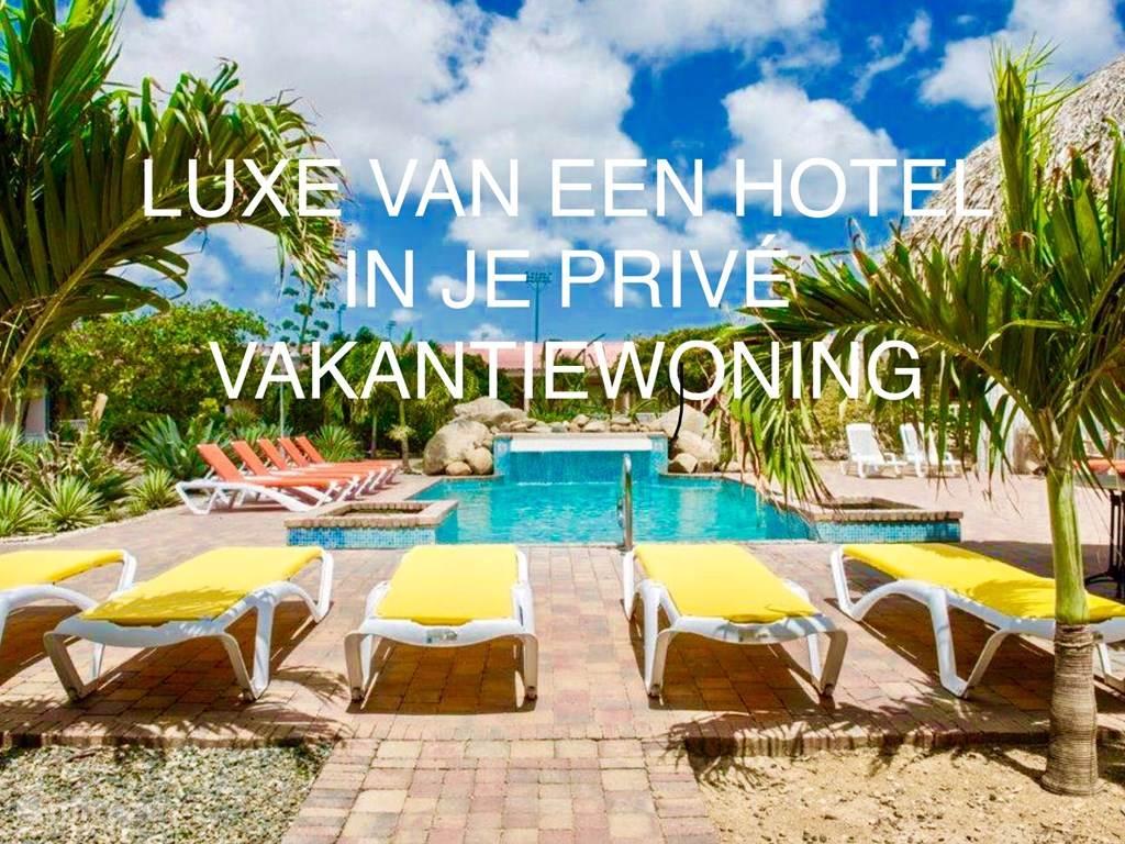 Vakantiehuis Aruba, Oranjestad, Oranjestad Appartement Camacur Residence met hotel service