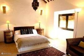 slaapkamer 4 met eigen douche  (bij 7 - 12 pers.)
