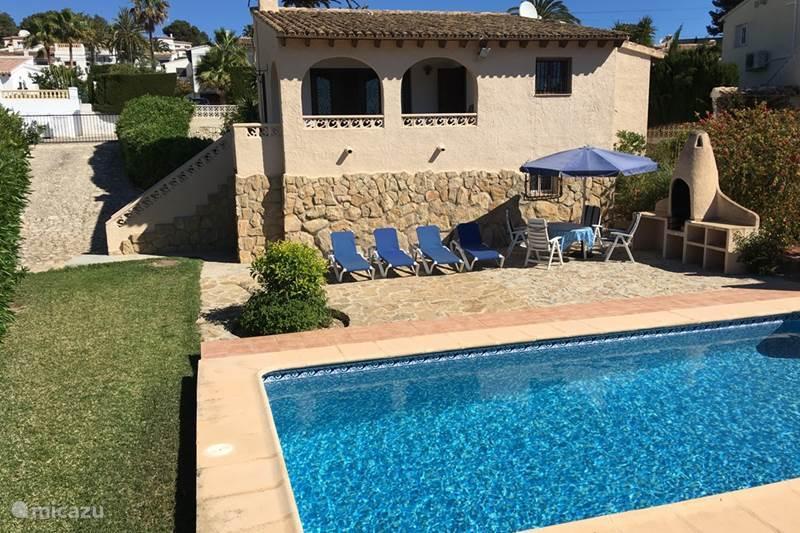 Vakantiehuis Spanje, Costa Blanca, Moraira Villa Casa Joke