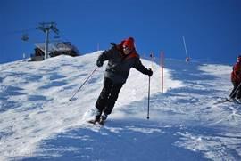 Piste de Sorebois, voor een ieder wat wils, moeilijke en makkelijke pistes, sneeuw zeker.