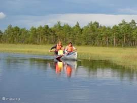 Lekker kanoën