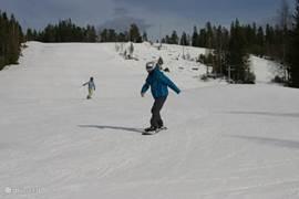 De ski piste op 35 minuten rijden.