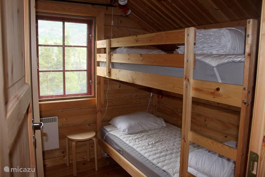2 slaapkamers met stapelbed en schitterend uitzicht....
