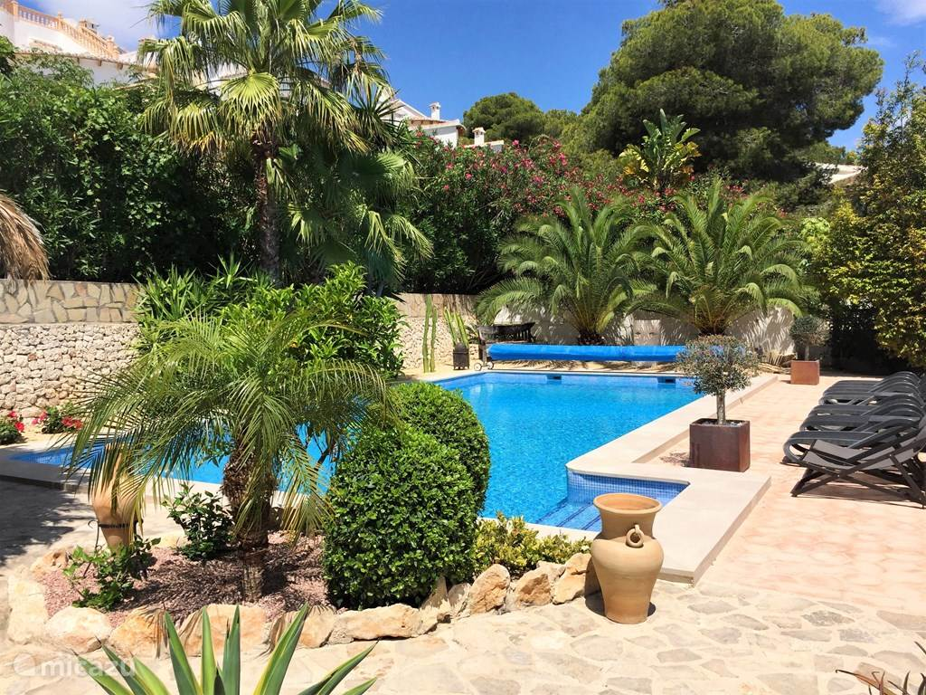 Vacation rental Spain, Costa Blanca, Moraira villa Villa Viva la Vida