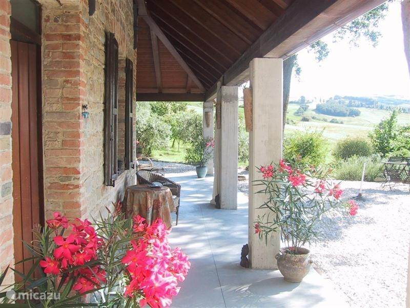 Cycling, Italy, Marche, San Lorenzo in Campo, bed & breakfast Lucertola Apartments