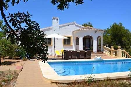 Vacation rental Spain, Costa Blanca, Benissa – villa La Mariposa