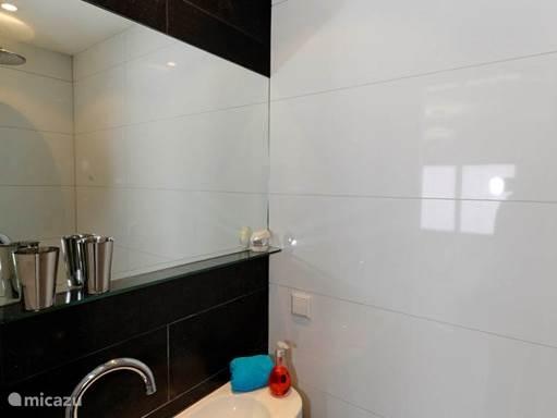 Badkamer behorende bij de slaapkamers