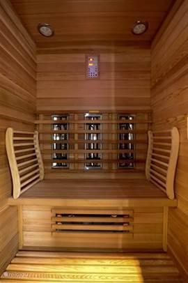 infrarood sauna begane grond voor 3 personen