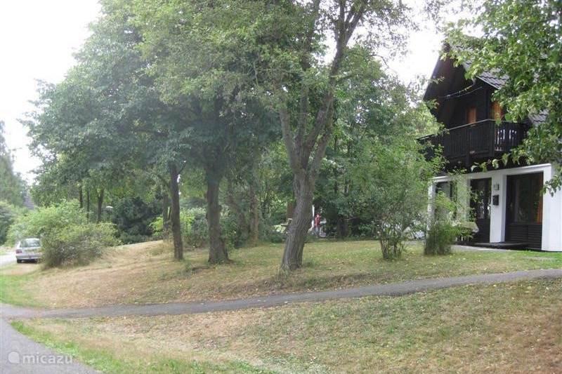 Vakantiehuis Duitsland, Sauerland, Frankenau Vakantiehuis HENKA, prachtige plek op het park