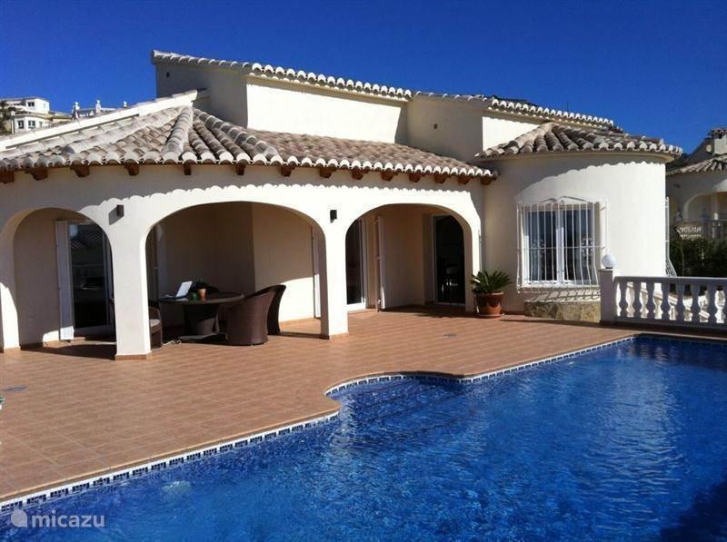 Vakantiehuis Spanje, Costa Blanca, Benitachell villa CASA LIRIOS