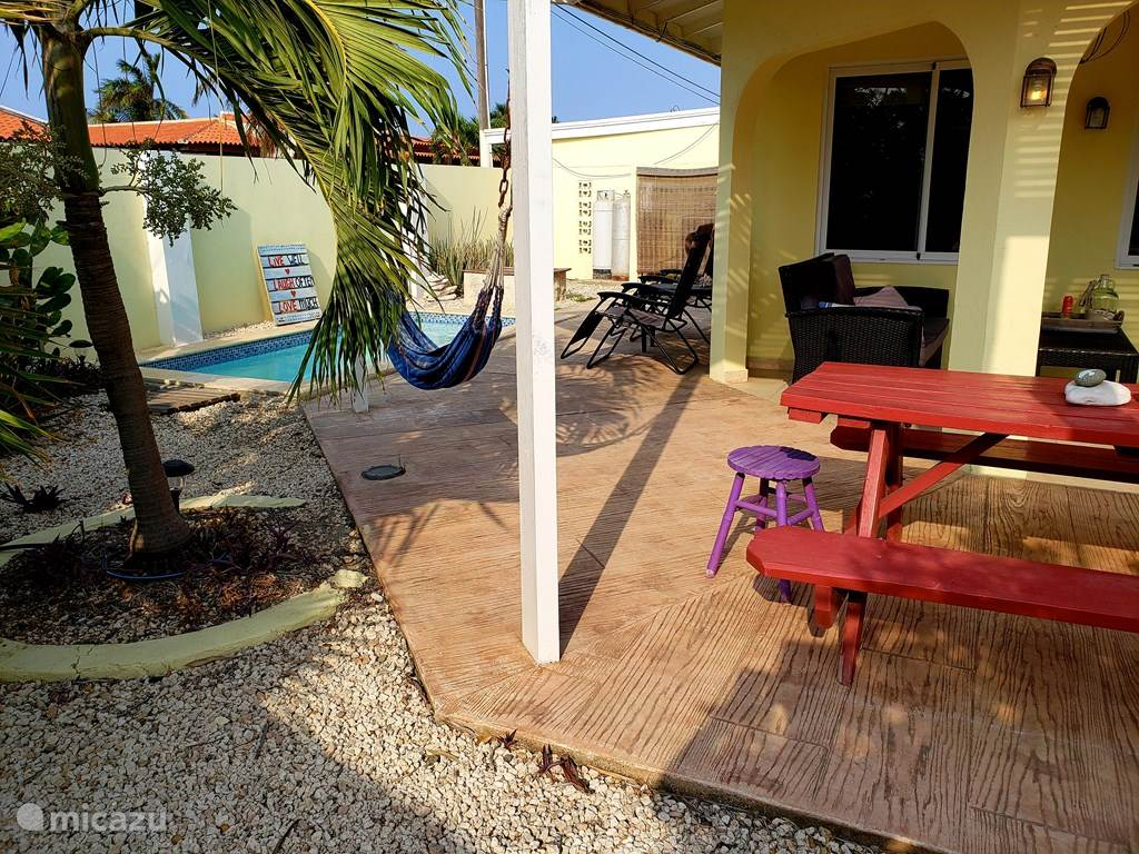 Vacation rental Aruba, North, Palm Beach Holiday house Attractive bungalow with swimming pool