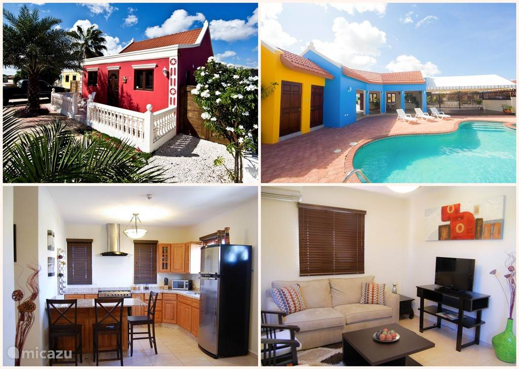 Ferienwohnung Aruba, Aruba Nord, Nord villa Cunucu Schöne Villa mit Pool