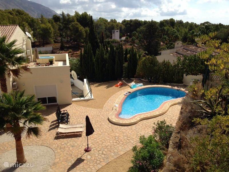 Vakantiehuis Spanje, Costa Blanca, Altea la Vieja villa Villa Altea la Vella 22p