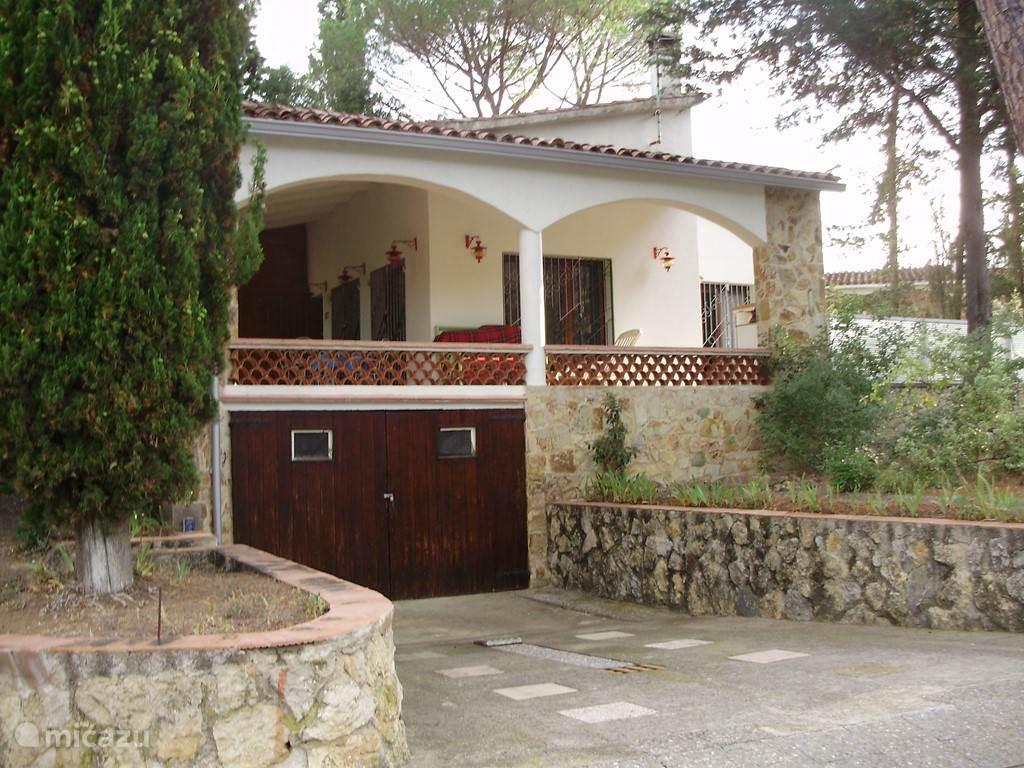Vakantiehuis Spanje, Costa Brava, Llagostera vakantiehuis chatemarana