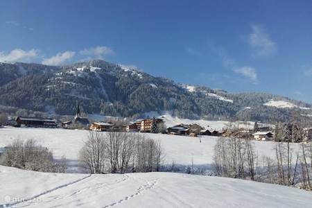 Niederau in winter