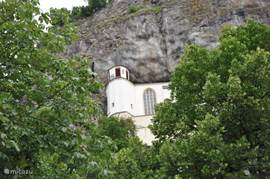 Church built in the rock at Idar Oberstein