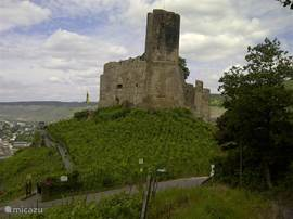 Old castle at Bernkastel Kues