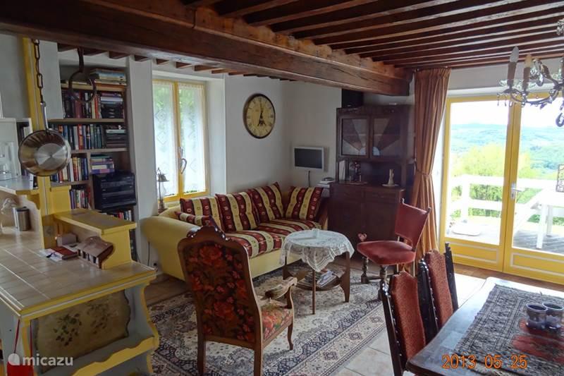 Vacation rental France, Nièvre, Chaumard Holiday house Le Petit Nice