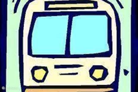 Ein Auto oder öffentlichen Verkehrsmitteln Miete