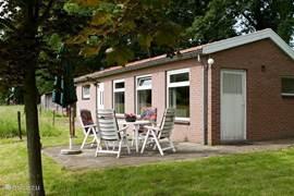 Mooi vrijstaand vakantiehuisje in buitengebied van Winterswijk