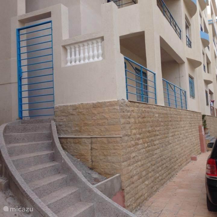 Vakantiehuis Marokko, Middellandse Zeekust – appartement Vakantie huis al Hoecaima Bades