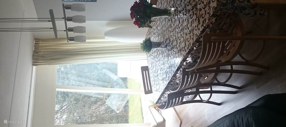 Eetkamer met lounge