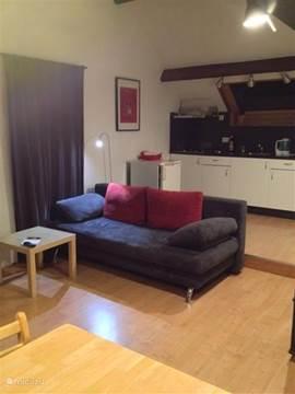 living met kitchenette 2 pers. appartement