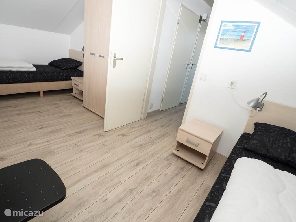 3e slaapkamer op bovenverdieping