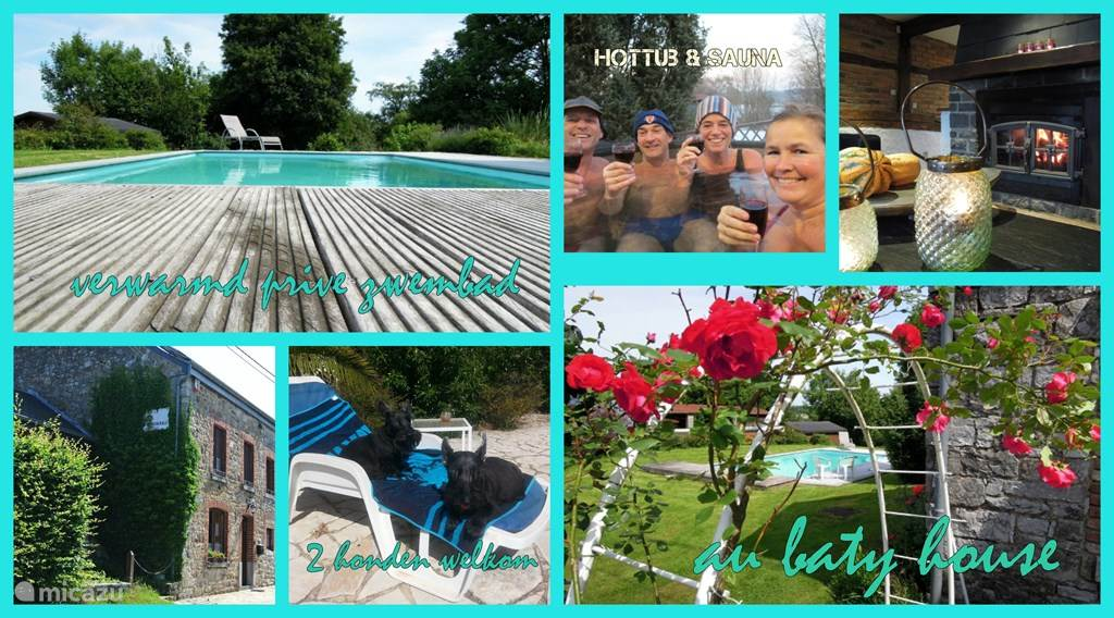 Vacation rental Belgium, Ardennes, Heyd Holiday house Au baty house