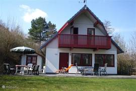 Cosy holiday home in beautiful wooded surroundings.