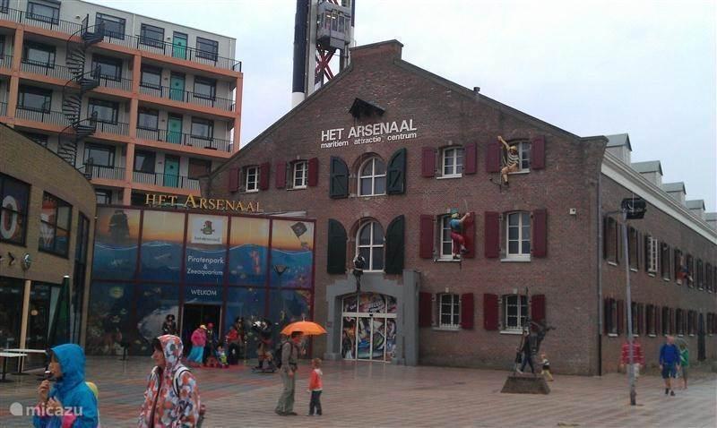 Dagje uit naar Het Arsenaal in Vlissingen