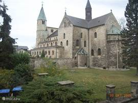 more than 1,000 years old, the abbey church in Gernrode
