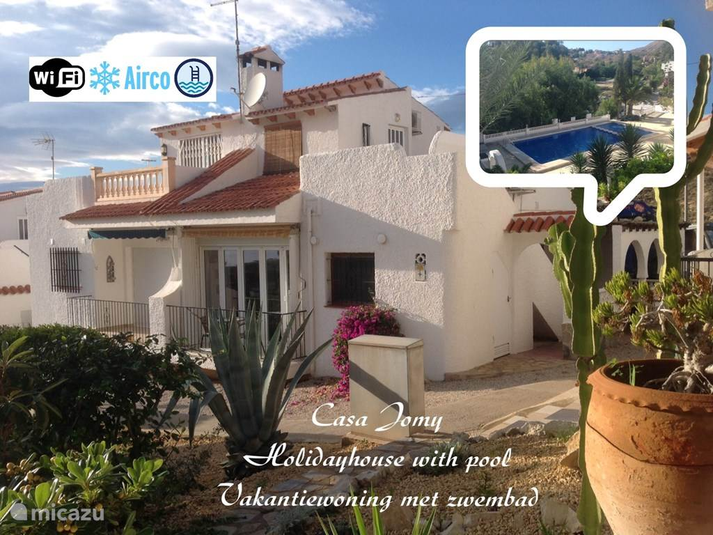 Vakantiehuis Spanje, Costa Blanca, Coveta Fumá Vakantiehuis Casa Jomy Coveta Fuma Neptuno