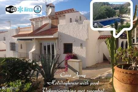 Vacation rental Spain, Costa Blanca, Coveta Fumá holiday house Casa Jomy - Neptuno - Bungalow